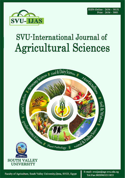 SVU-International Journal of Agricultural Sciences